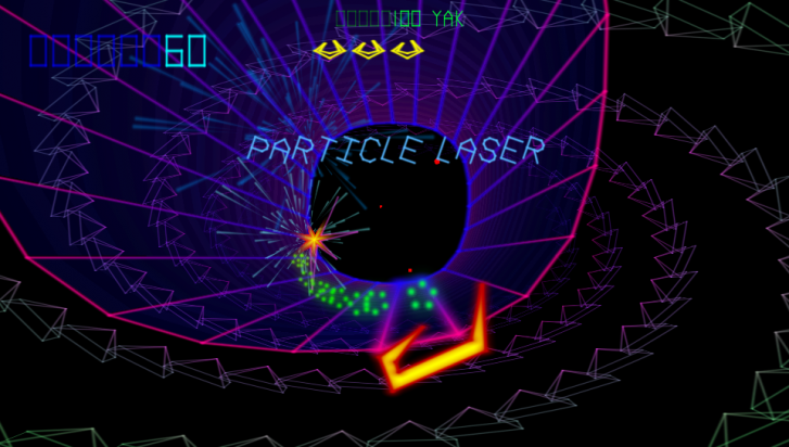 The particle laser.
